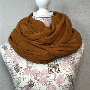 Burnt orange wrap around/ blanket scarf